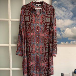 Foxcroft Long Blouse/Tunic, Drapes Beautifully, 14